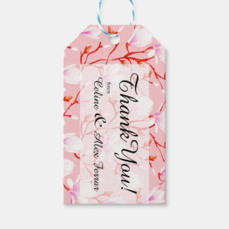 Spring Flower Garden | pink Gift Tags