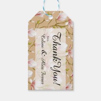 Spring Flower Garden | tan Gift Tags