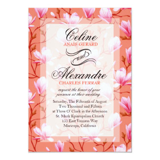 Spring Flower Garden Wedding | melon Card