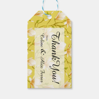 Spring Flower Garden | yellow Gift Tags