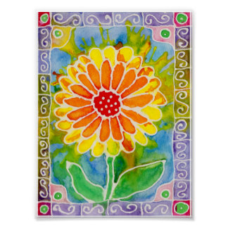 Spring Flower Small Poster