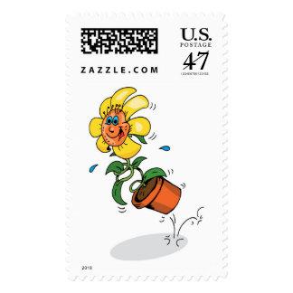 Spring Flower Stamp