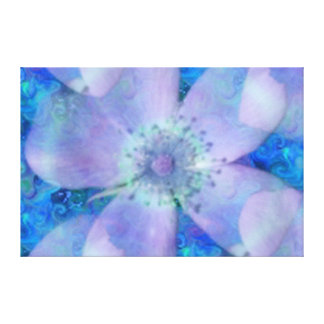 Spring Flower Wrapped Canvas Canvas Print