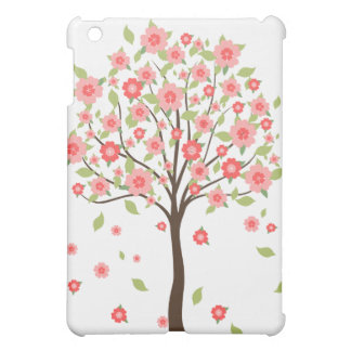 spring flowering cherry tree with pink blossoms iPad mini case
