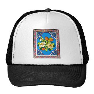 Spring Flowers 10 Mesh Hat
