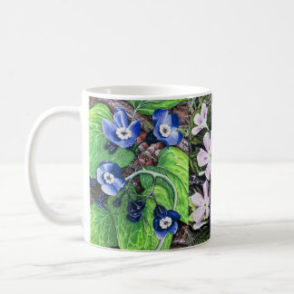 Spring flowers 2 classic white coffee mug