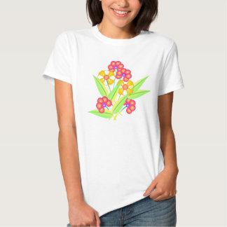 Spring flowers 2 t shirt