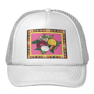spring Flowers 9 Mesh Hat