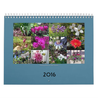 Spring flowers all year long calendar