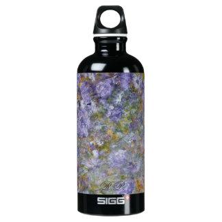 Spring Flowers Aluminum Water Bottle