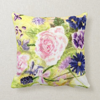 Spring Flowers American MoJo Pillow