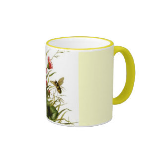 Spring Flowers and Bees Mug