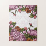 Spring Flowers and Damask Puzzle