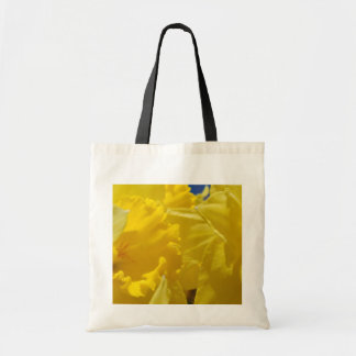 Spring flowers canvas bags