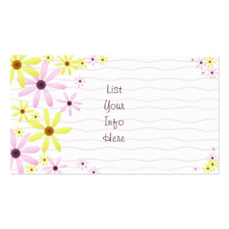 Spring Flowers Business Card