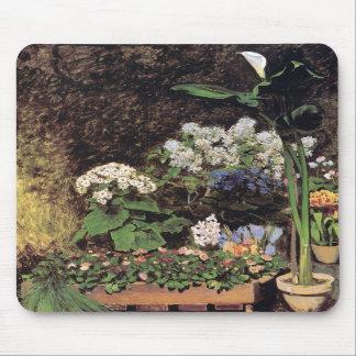 Spring flowers by Pierre Renoir Mousepad