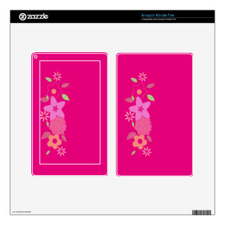 Spring flowers decals for kindle fire
