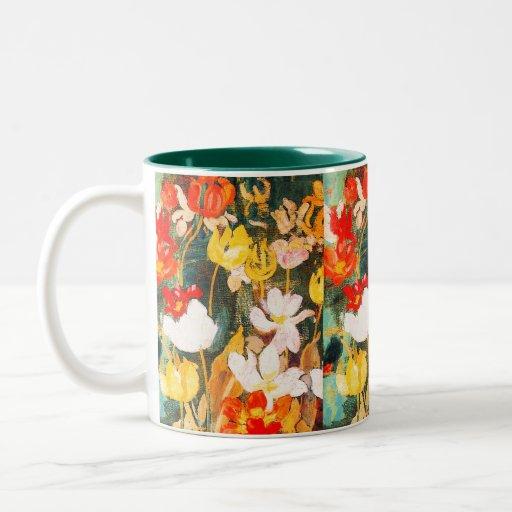 Spring Flowers. Fine Art Easter Gift Mug