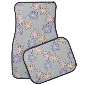 Spring Flowers Floor Mat