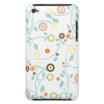 Spring flowers girly mod chic floral pattern barely there iPod case