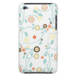 Spring flowers girly mod chic floral pattern iPod touch cover