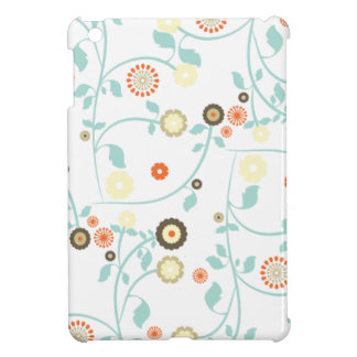 Spring flowers girly mod chic floral pattern cover for the iPad mini