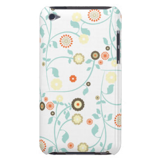 Spring flowers girly mod chic floral pattern iPod touch Case-Mate case
