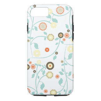 Spring flowers girly rustic chic floral pattern iPhone 7 case