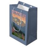 Spring Flowers - Glacier National Park, MT Medium Gift Bag