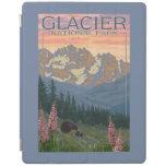 Spring Flowers - Glacier National Park, MT iPad Cover