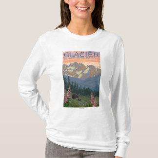 Spring Flowers - Glacier National Park, MT T-Shirt