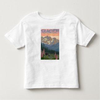 Spring Flowers - Glacier National Park, MT Toddler T-shirt