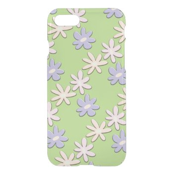 Spring Flowers Green iPhone 7 Case