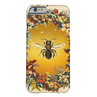 SPRING FLOWERS HONEY BEE / BEEKEEPER BEEKEEPING BARELY THERE iPhone 6 CASE