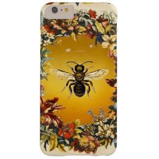 SPRING FLOWERS HONEY BEE / BEEKEEPER BEEKEEPING BARELY THERE iPhone 6 PLUS CASE