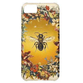 SPRING FLOWERS HONEY BEE / BEEKEEPER BEEKEEPING COVER FOR iPhone 5C