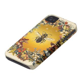 SPRING FLOWERS HONEY BEE / BEEKEEPER BEEKEEPING iPhone 4 Case-Mate CASE