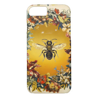 SPRING FLOWERS HONEY BEE / BEEKEEPER BEEKEEPING iPhone 8/7 CASE
