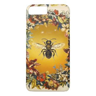 SPRING FLOWERS HONEY BEE / BEEKEEPER BEEKEEPING iPhone 8 PLUS/7 PLUS CASE