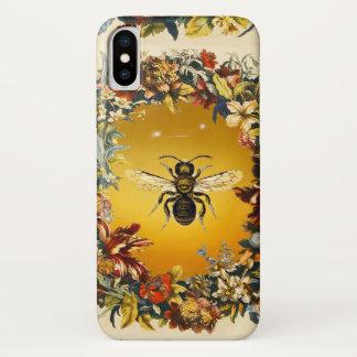 SPRING FLOWERS HONEY BEE / BEEKEEPER BEEKEEPING iPhone X CASE