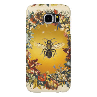 SPRING FLOWERS HONEY BEE / BEEKEEPER BEEKEEPING SAMSUNG GALAXY S6 CASE