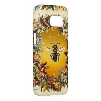 SPRING FLOWERS HONEY BEE / BEEKEEPER BEEKEEPING SAMSUNG GALAXY S7 CASE