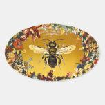 SPRING FLOWERS HONEY BEE / BEEKEEPER BEEKEEPING STICKERS
