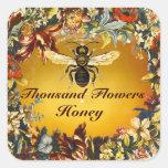 SPRING FLOWERS HONEY BEE / BEEKEEPER BEEKEEPING STICKER