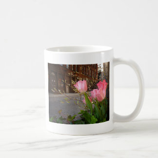 Spring Flowers in Soho, New York City Coffee Mug