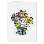 Spring Flowers Jack in Box Cards