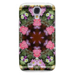 Spring Flowers Kaleidoscope Samsung Galaxy S4 Cases
