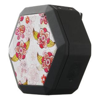 Spring Flowers & Ladybugs Black Bluetooth Speaker