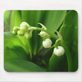 spring flowers - lily of the valley mousepad