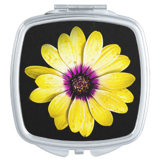 Spring Flowers Makeup Mirror